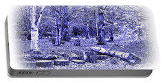 Portable Battery Charger featuring the photograph Beech Woods by Jane McIlroy