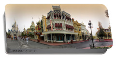 Before The Gates Open Magic Kingdom Main Street. Portable Battery Charger