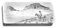 Open Prairie Overlook Portable Battery Charger