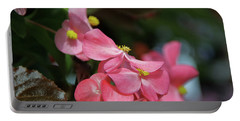 Begonia Beauty Portable Battery Charger