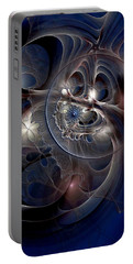 Portable Battery Charger featuring the digital art Beguiled At Twilight by Casey Kotas