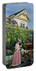 Behind The Garden Gate Portable Battery Charger