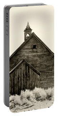 Behind The Steeple By Diana Sainz Portable Battery Charger