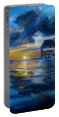 Belizean Sunrise Portable Battery Charger