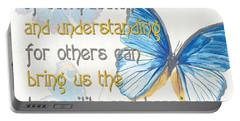 Bella Butterflies 1 Portable Battery Charger by Debbie DeWitt