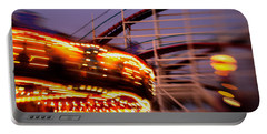 Did I Dream It Belmont Park Rollercoaster Portable Battery Charger