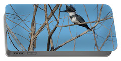 Belted Kingfisher 4 Portable Battery Charger