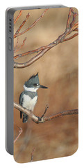Belted Kingfisher Portable Battery Charger