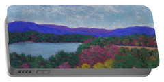 Berkshires In Late October Portable Battery Charger