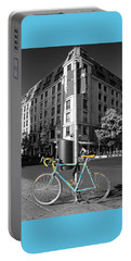 Berlin Street View With Bianchi Bike Portable Battery Charger