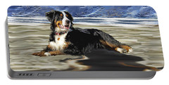 Bernese Mountain Dog Portable Battery Charger