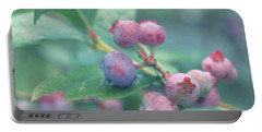 Berries For You Portable Battery Charger by Rachel Mirror