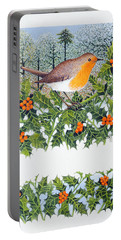 Berrying  Portable Battery Charger by Pat Scott