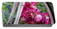 Bespoke Flower Arrangement Portable Battery Charger