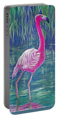 Beta's Flamingo Portable Battery Charger