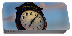 Bethany Beach Clock Portable Battery Charger