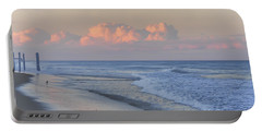 Better Days Ahead Seaside Heights Nj Portable Battery Charger by Terry DeLuco