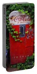 Austin Texas - Coca Cola Vending Machine - Luther Fine Art Portable Battery Charger