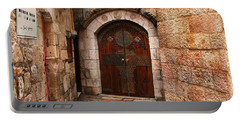 Door In Jerusalem Portable Battery Charger