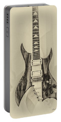 Bich Electric Guitar Monocolored Portable Battery Charger