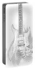 Bich Electric Guitar Sketch Portable Battery Charger
