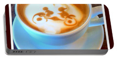 Bicycle Built For Two Latte Portable Battery Charger
