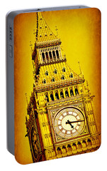 Big Ben 9 Portable Battery Charger by Stephen Stookey