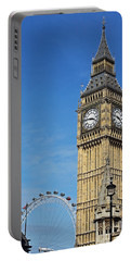 Big Ben And London Eye Portable Battery Charger
