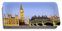 Big Ben And Westminster Bridge Portable Battery Charger