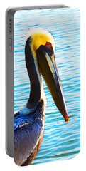 Big Bill - Pelican Art By Sharon Cummings Portable Battery Charger