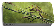 Big Bluestem In Bloom Portable Battery Charger