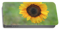 Big Bright Yellow Colorful Sunflower Art Print Portable Battery Charger