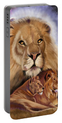Third In The Big Cat Series - Lion Portable Battery Charger