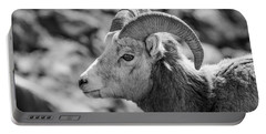 Big Horn Sheep Profile Portable Battery Charger