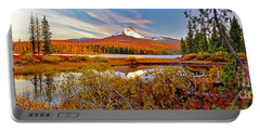 Big Lake And Mt Washington Oregon Portable Battery Charger