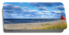 Big Red Lighthouse, Holland, Michigan Portable Battery Charger