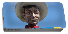 Portable Battery Charger featuring the photograph Big Tex by Charlie and Norma Brock