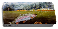 Big Thompson Trout Portable Battery Charger
