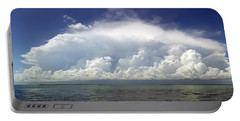 Big Thunderstorm Over The Bay Portable Battery Charger