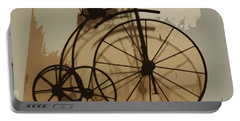Portable Battery Charger featuring the photograph Big Wheel Trike by Ecinja Art Works