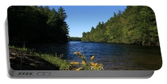 Portable Battery Charger featuring the photograph Bigelow Hollow  by Neal Eslinger