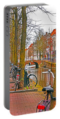 Bikes And Canals Portable Battery Charger