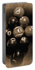 Billiards Art - Your Break - Bw Opal Portable Battery Charger