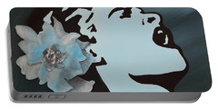 Billie Holiday Portable Battery Charger by Alys Caviness-Gober