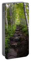 Birch Woods Hike Portable Battery Charger