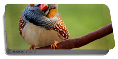 Bird Art - Change Your Opinions Portable Battery Charger by Jordan Blackstone