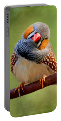 Bird Art - Change Your Opinions Portable Battery Charger