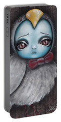 Bird Girl #3 Portable Battery Charger