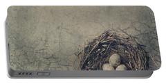Bird Nest Portable Battery Charger