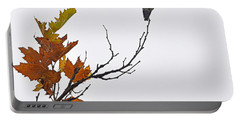 Portable Battery Charger featuring the photograph Bird Of Autumn by AJ  Schibig